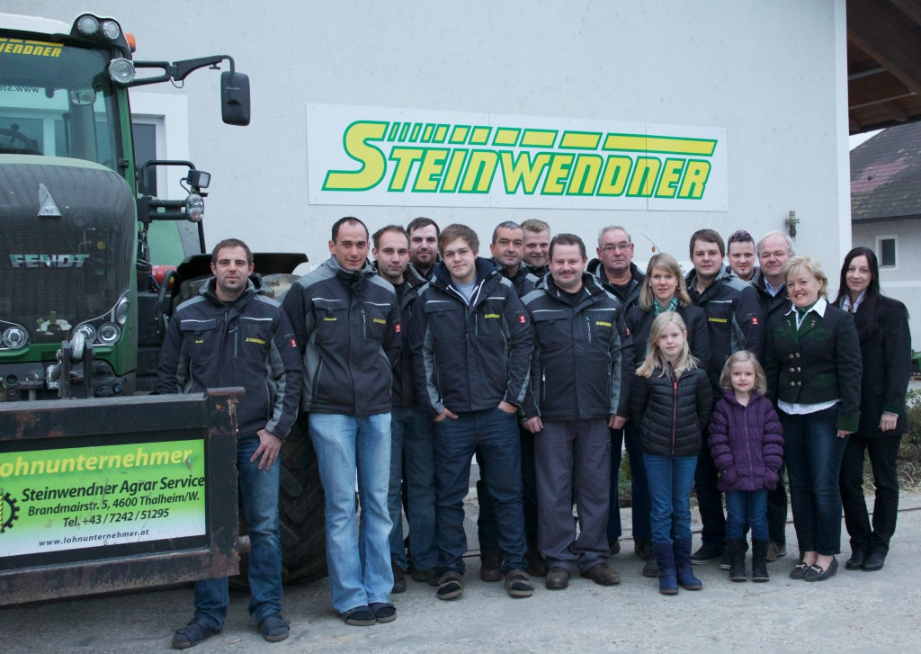 Steinwendner Team Foto